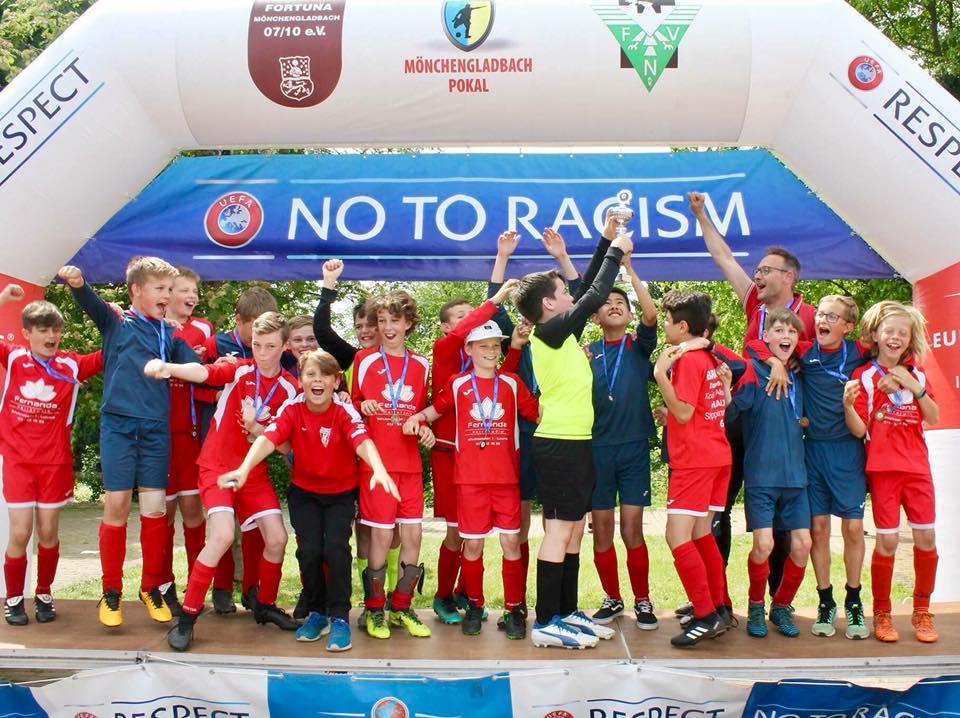 U12 auf Mönchengladbach Pokal - mei 2018