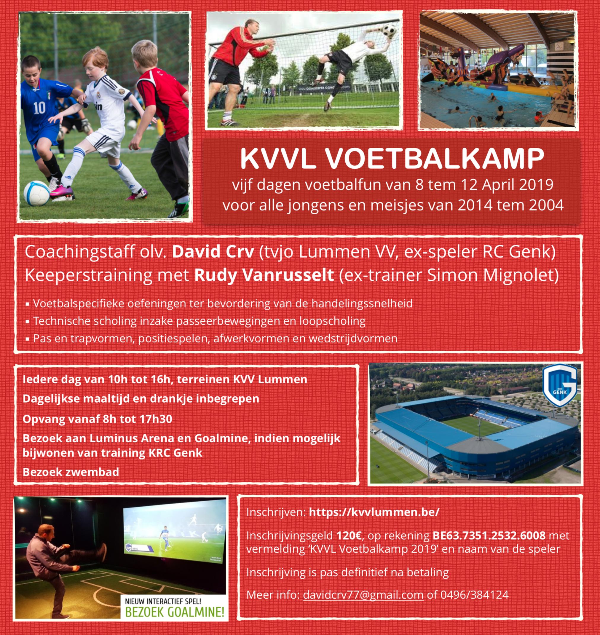 KVVL Voetbalkamp 2019
